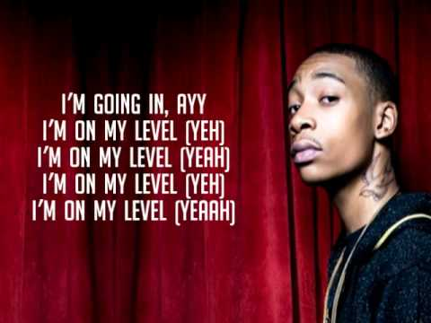 On My Level (HQ) by Wiz Khalifa (lyrics)