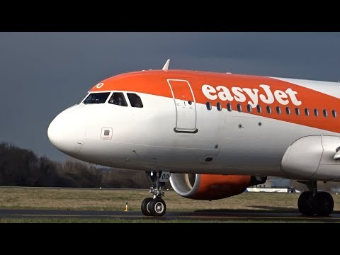 ✈ EasyJet Airbus A320-214SL Departure From London Southend Airport