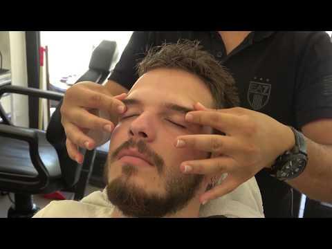 ASMR Turkish Barber Face,Head and Body Massage 149 💆♂️👍💈