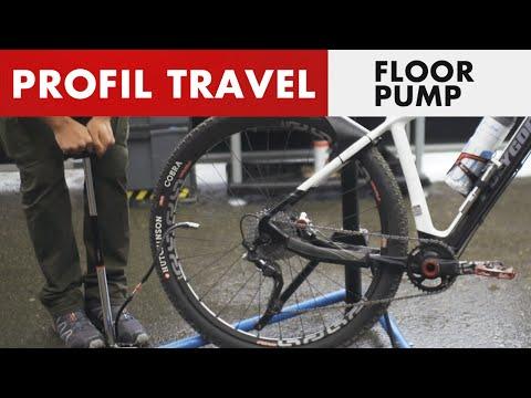 Zéfal Profil Travel - Effective and compact floor pump