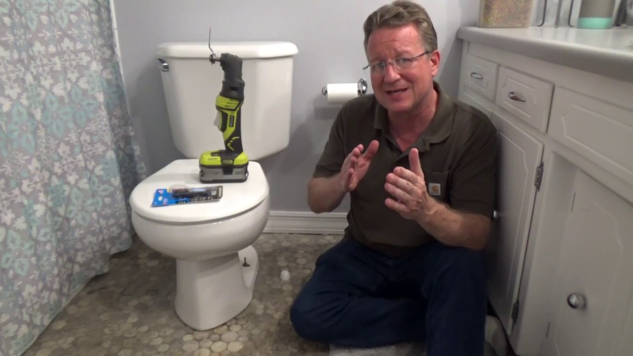 Cutting Down Toilet Bolts Youtube