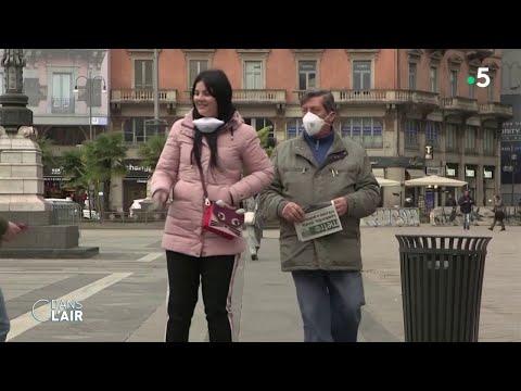 Coronavirus: l'Italie confinée - Reportage #cdanslair 10.03.2020