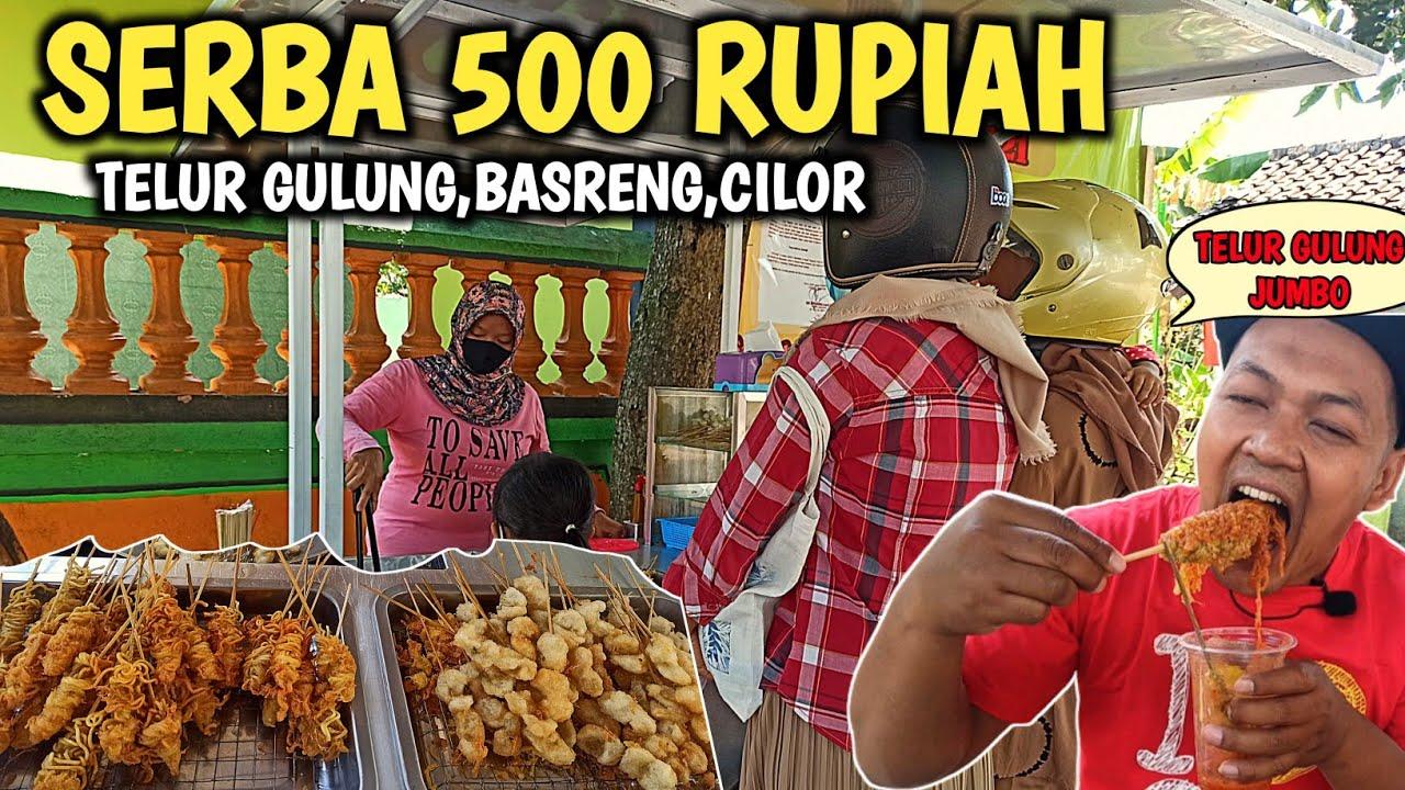 100.000 DAPAT 200 TUSUK!! COBAIN TELUR GULUNG JUMBO - Indonesia Street Food