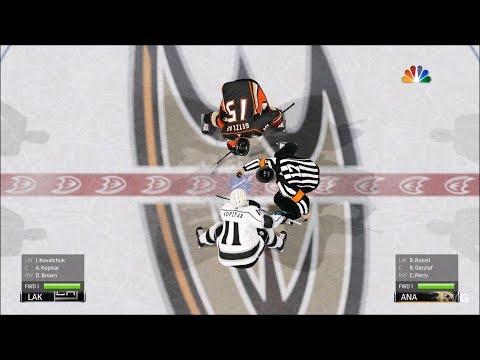 NHL 19 - Anaheim Ducks vs Los Angeles Kings - Gameplay (HD) [1080p60FPS]