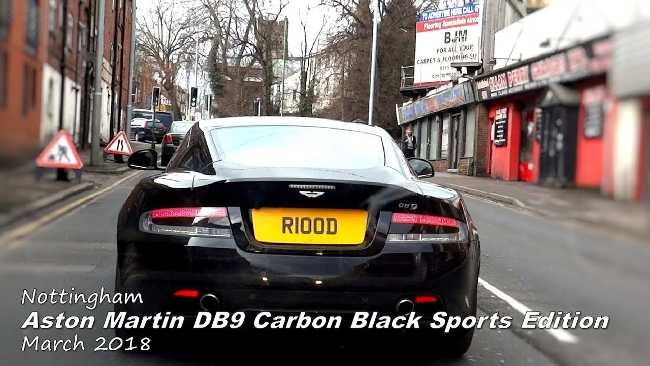 Aston Martin Db9 Carbon Black Sport Edition Nottingham March 2018