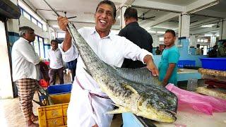 Indian Seafood Breakfast - Kannur FISH MARKET Experience! | Kerala, India