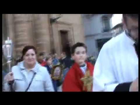 Vía Crucis con Yacente .Real Y T. Arch. Santo Entierro Oviedo 2020