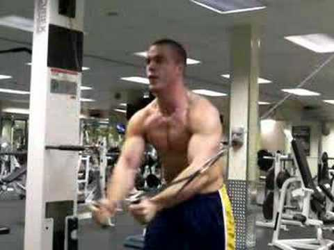 Bodybuilding Chest Cable Flys Youtube