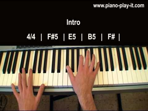 Born This Way Lady Gaga Piano Tutorial