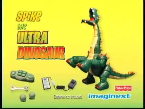 Spike The Ultra Dinosaur