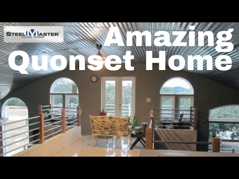 Quonset Hut Homes: The Most Beautiful DIY Q-Hut You'll See All year