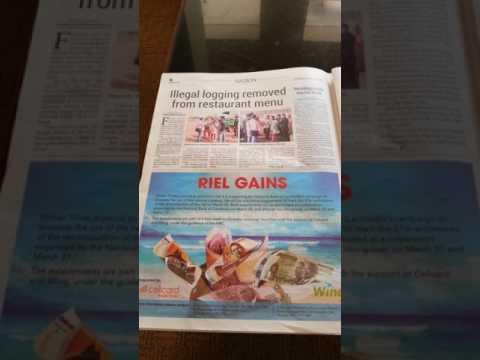 Cambodia trip ..newspaper .. general comment.. 3 2017