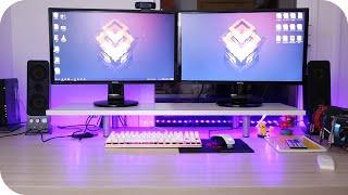 Como conectar dos monitores a tu PC GAMER ; GUÍA DE HARDWARE -  como tener doble pantalla