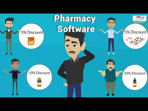 Pharmacy Software Demo Marg Erp @INR 7200 [English]
