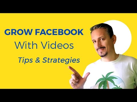 Facebook Video Marketing: Tips & Strategy To GROW Your Social Media 📹