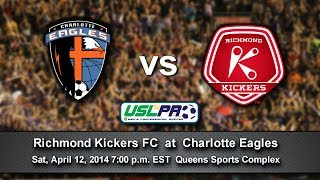 Charlotte Eagles Host Richmond Kickers