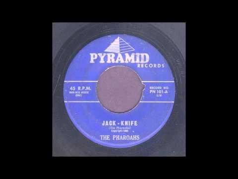 The Pharoahs  Jack-Knife - Rockabilly Instrumental 45