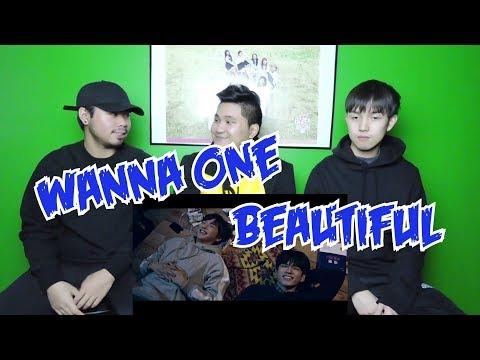 WANNA ONE - BEAUTIFUL MV REACTION
