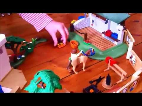 pr sentation grand centre equestre playmobil youtube. Black Bedroom Furniture Sets. Home Design Ideas