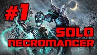 Divinity Original Sin 2: Necromancer solo Houndmaster, Kniles, High Judge (Honour Mode) - Part 1