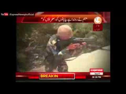 Pak Marines counter terrorism operation demonstrate part 1