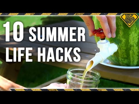10 LIFE HACKS for SUMMER