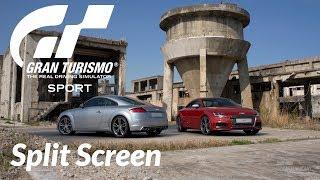 Gran Turismo Sport PS4 I Split Screen