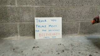 Thanks Palace Meat Co.!