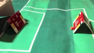 Bola Kertas - Arsenal 0 vs 2 Bayern Munchen UCL (19/2/2014)