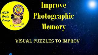 MGM Brain Power - Visual Puzzles 2 to improve Photographic Memory | Mission Genius Mind