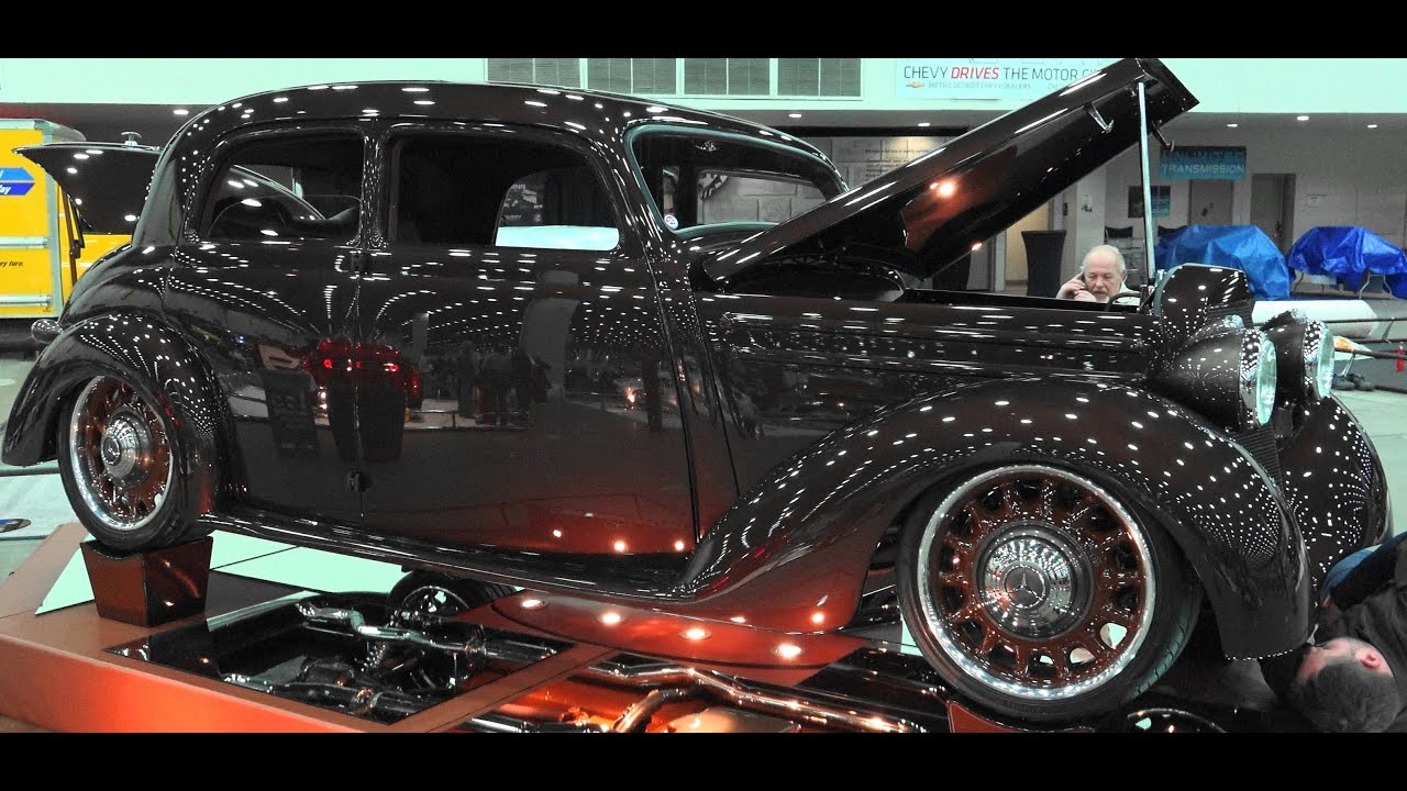 1952 Mercedes Benz 170s Street Rod 2016 Detroit Autorama Great Eight Winner