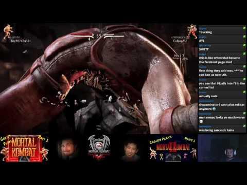 MKXL Oct. Patch Cabjoy (Aftershock Tremor) vs Boy (Mystic Ermac)