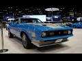 (HOT NEWS) 1971 Ford Mustang Mach 1 | 2017 Chicago Auto Show sportscar