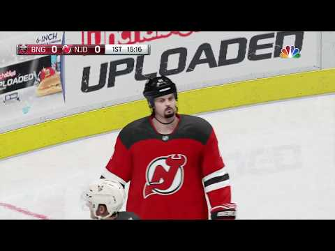 NHL 18 - Binghamton Devils vs New Jersey Devils Full Gameplay