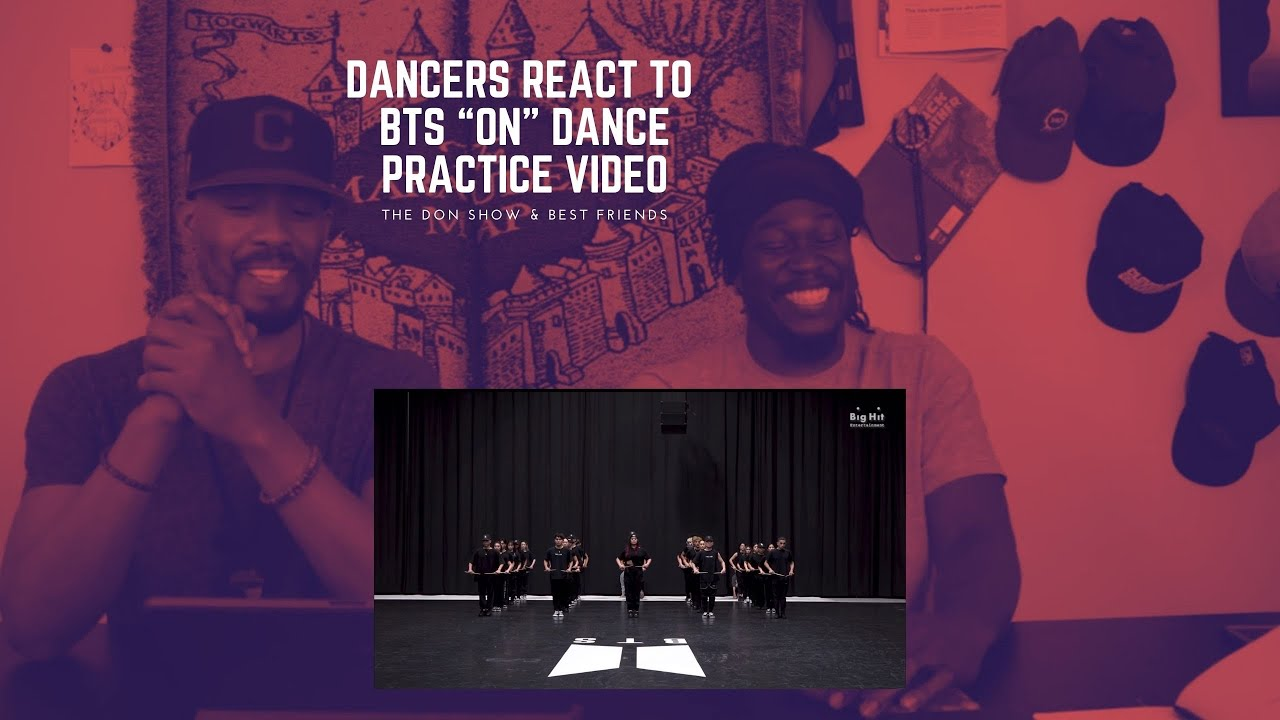 Dancers React to [Choreography] BTS 'ON' Dance Practice