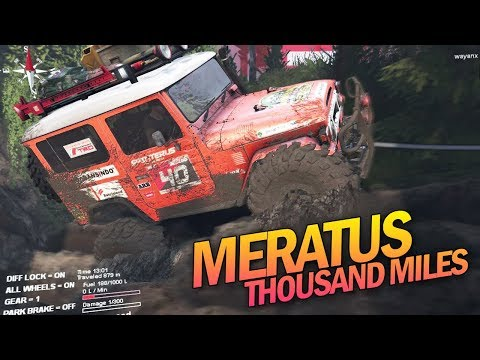 Jeep Offroad Meratus Kalimantan Indonesian Spintires Mod - Miles Thousand