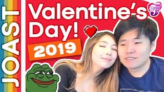 JOAST ???? Valentine's Day Special 2019 ❱ ???? 2019.02.14 ❱ EDITED STREAM VOD + CHAT ❱ Janet Toast Meme