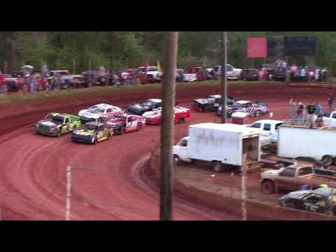 Winder Barrow Speedway Modified Street Feature Race 4/6/19