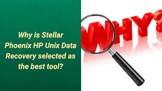Stellar Phoenix HP UNIX Data Recovery