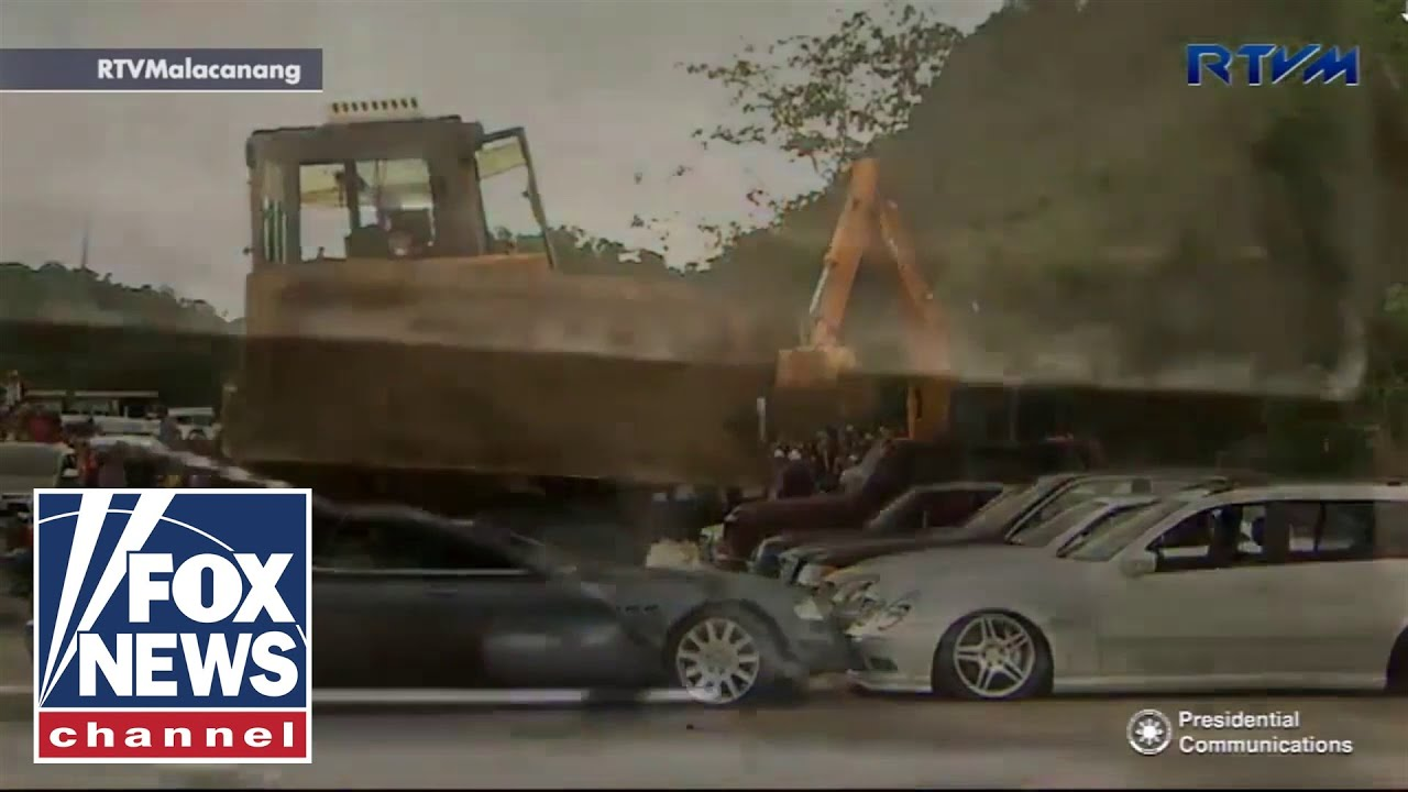 Luxury Cars Destroyed In Philippines Crime Crackdown Youtube