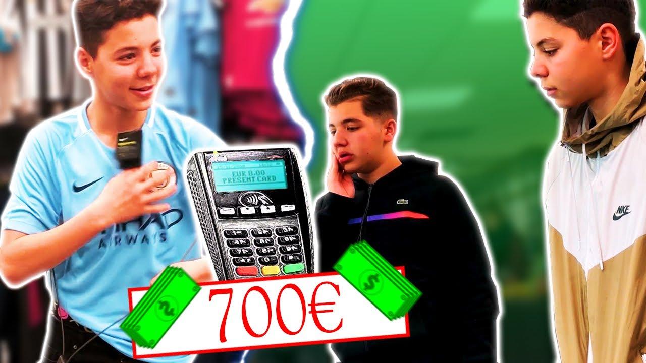 J'ACHÈTE 700 EUROS D'HABITS POUR 0 EUROS