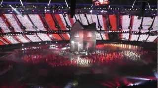 Dizzee Rascal at the London 2012 Olympic Opening Ceremony