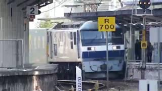 JR山陽本線 貨物列車 EF210ー151