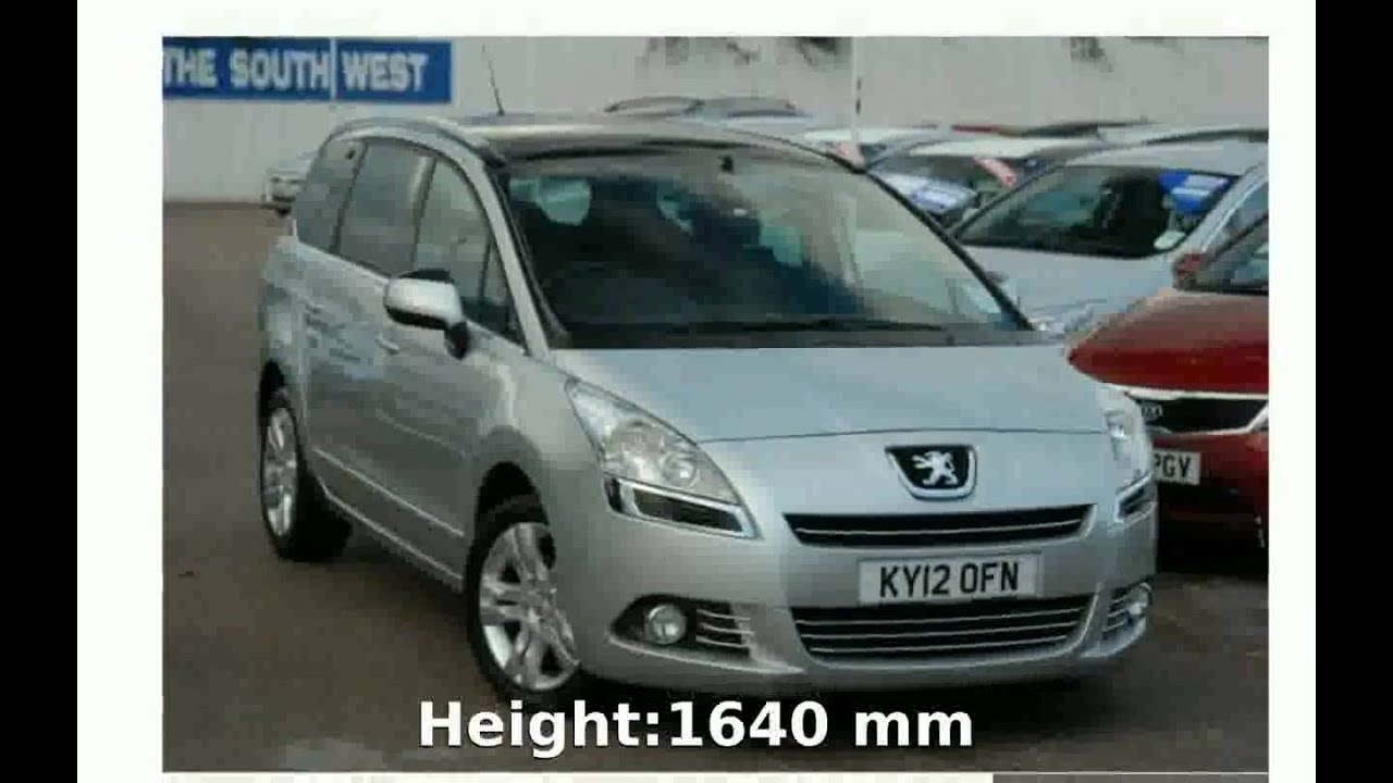 2012 peugeot 5008 hdi 163 review features