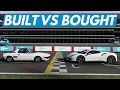 Forza 6?Built vs Bought Shootout (Ferrari 488 vs Fiat X1/9)