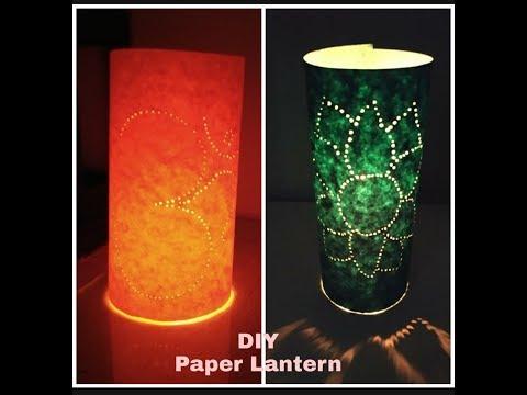 DIY Paper lantern /Diwali decoration ideas/easy paper lantern for diwali/diwali craft