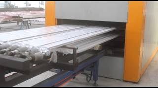 Wangeshi Wood Grain Effect Machine For Aluminum Profile/sheet
