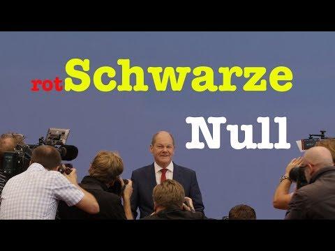 Bundeshaushalt 2019 mit Finanzminister Olaf Scholz (SPD) - BPK vom 6. Juli 2018