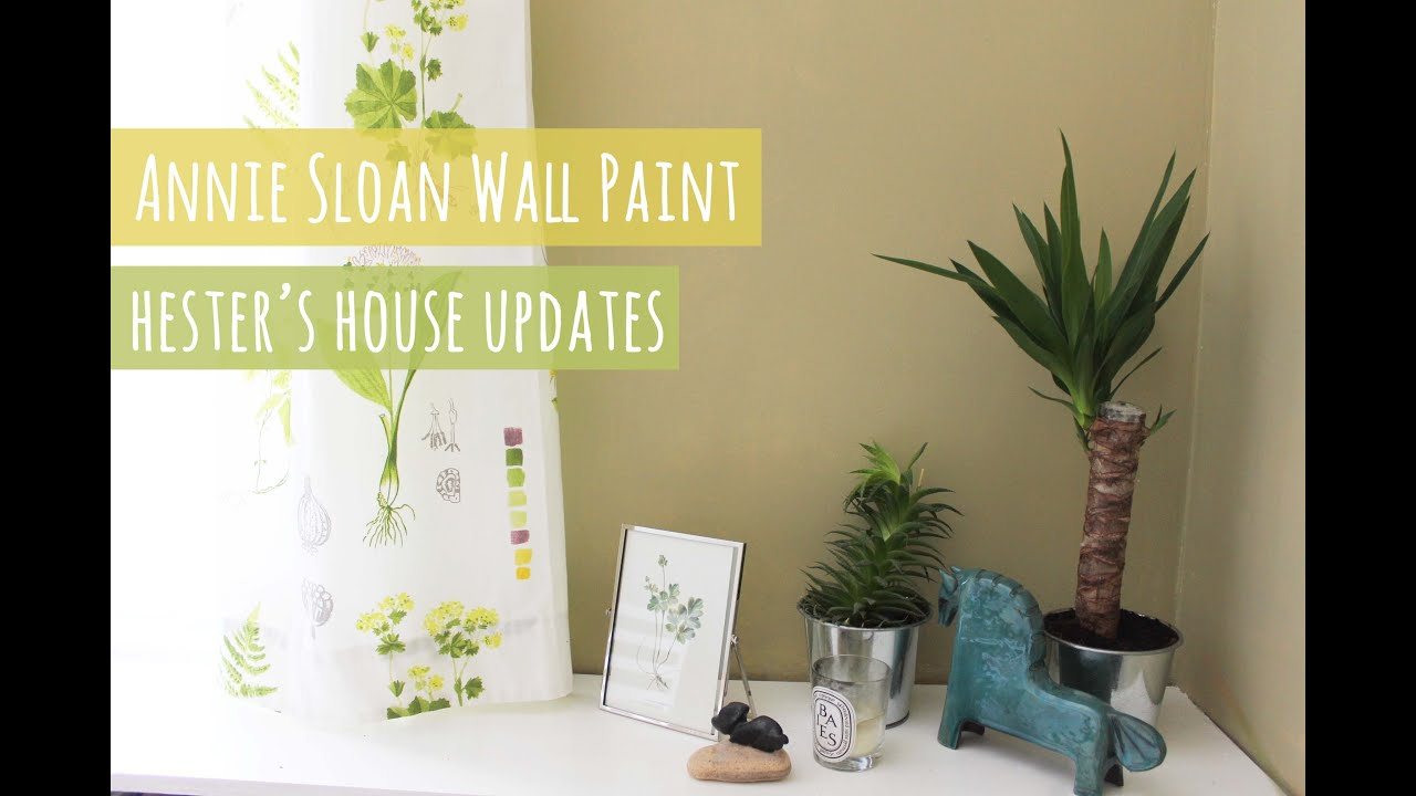 Annie Sloan Wall Paint And The Start Of Living Room Makeover