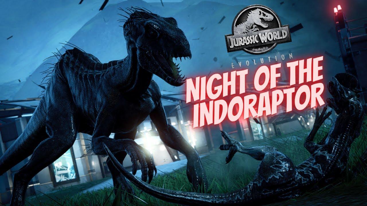 Download Night of the Indoraptor - Jurassic World Evolution [4K]